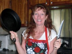 Jane Hoff, author of Bones in Paradise will be in attendance at the monthly Words and Wine event. Photo Courtesy.