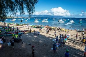 Pailolo Challenge 2015 file photo, courtesy of Hawaiian Canoe Club.