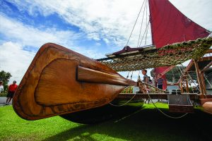 October is Wayfinding Month. As a way to celebrate centuries of non-instrument navigation, the month of October will be dedicated to community activities centered around the theme of the wa'a (canoe). Photo Courtesy.