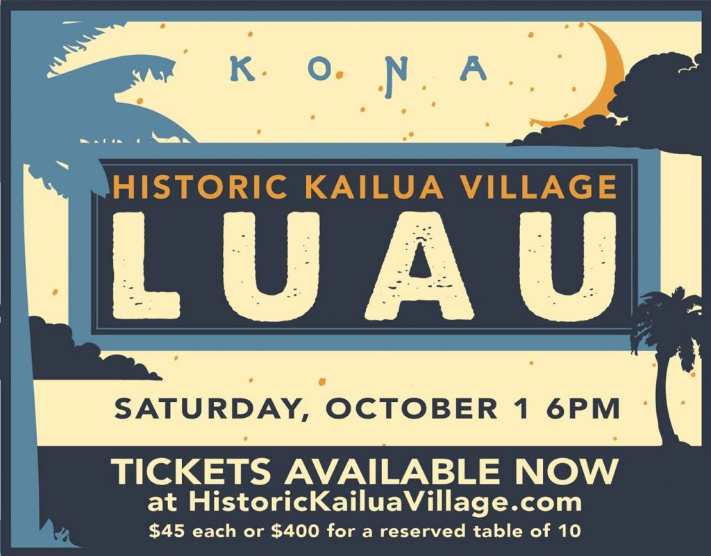 Annual Historic Kailua Village Lūʻau
