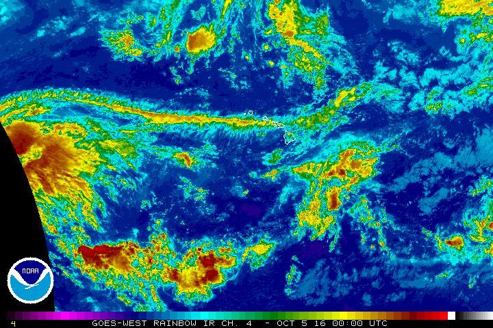 Oct. 4, 2 p.m., 2016. NOAA/NWS image.