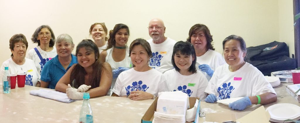 Volunteers at A Dream Come True's All You Can Eat Ice Cream Party fundraiser, Sunday, Oct. 16. Courtesy photo.