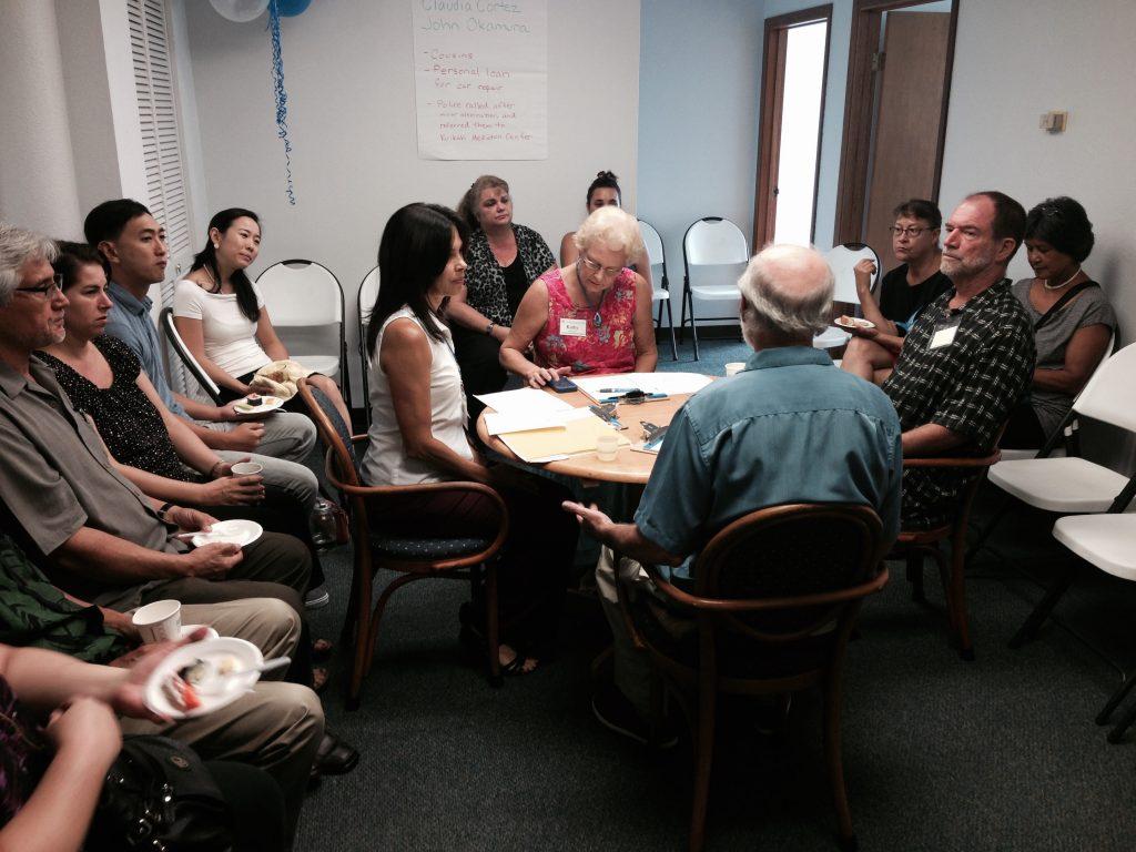 Mock mediation. Ku'ikahi Mediation Center image.
