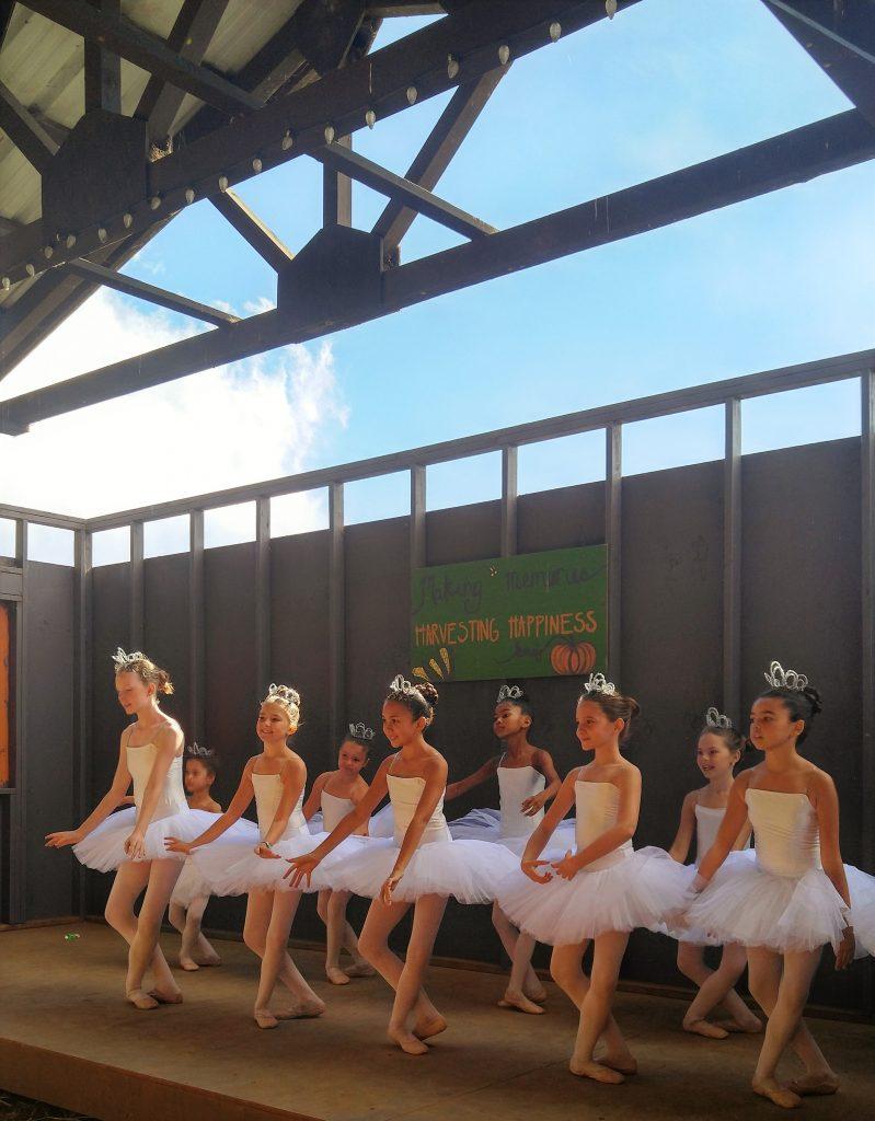 On Saturday, Oct. 22, 2016, Doneva Ballet School of Waimea performed for guests of Kohala Mountain Educational Farm. Photo: Crystal Richard.