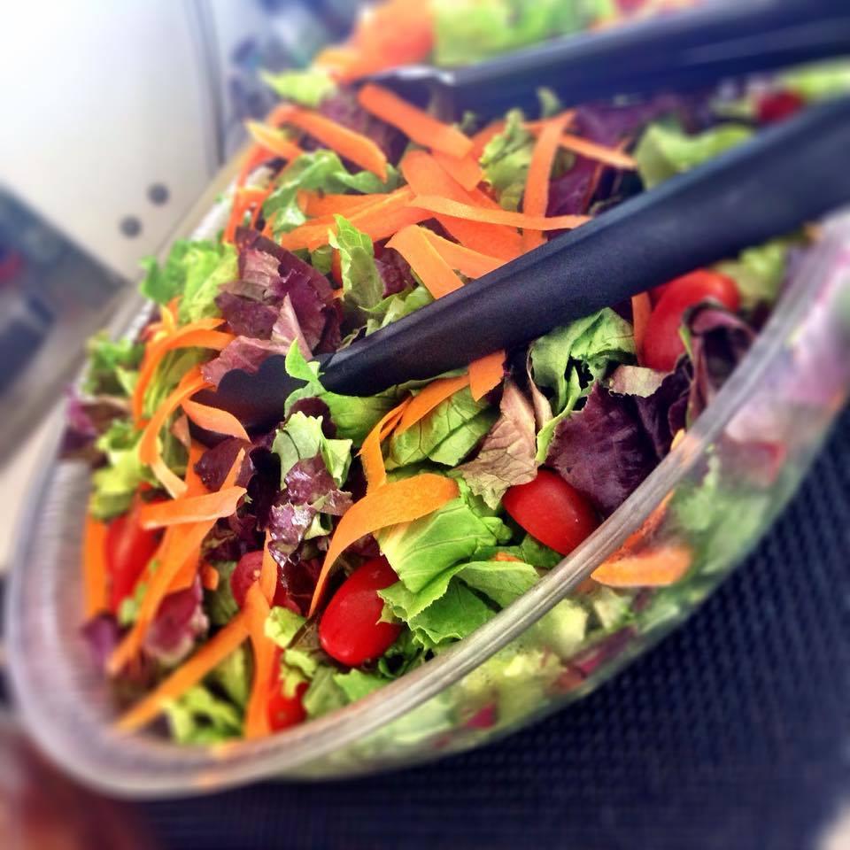 Hula Kai's fresh greens. Karen Rose photo.