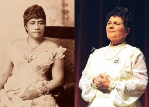 UH-Hilo's Jackie Pualani Johnson brings beloved Queen Lili'uokalani to life in a memorable one-woman performance on Oct. 10 and 11 at the Lyman Museum.