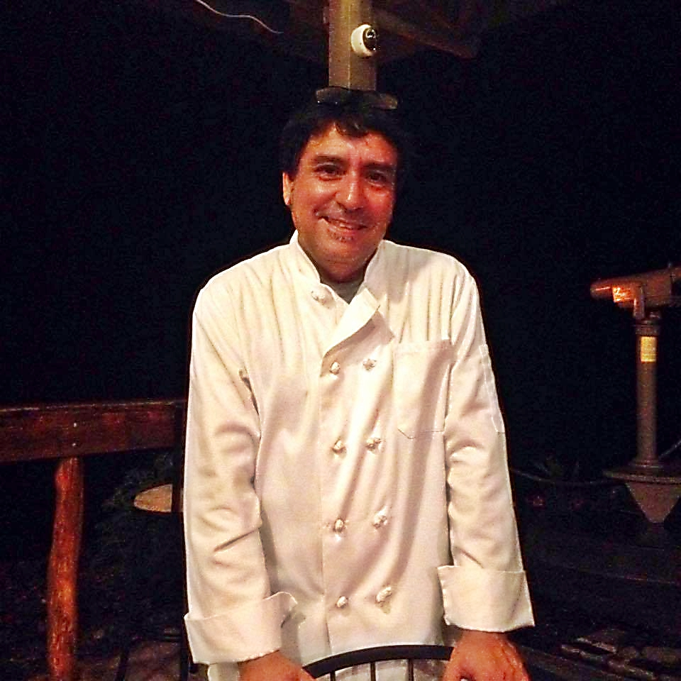 Rapa Nui Cucina's Chef Rodrigo Villarroel. Karen Rose photo.