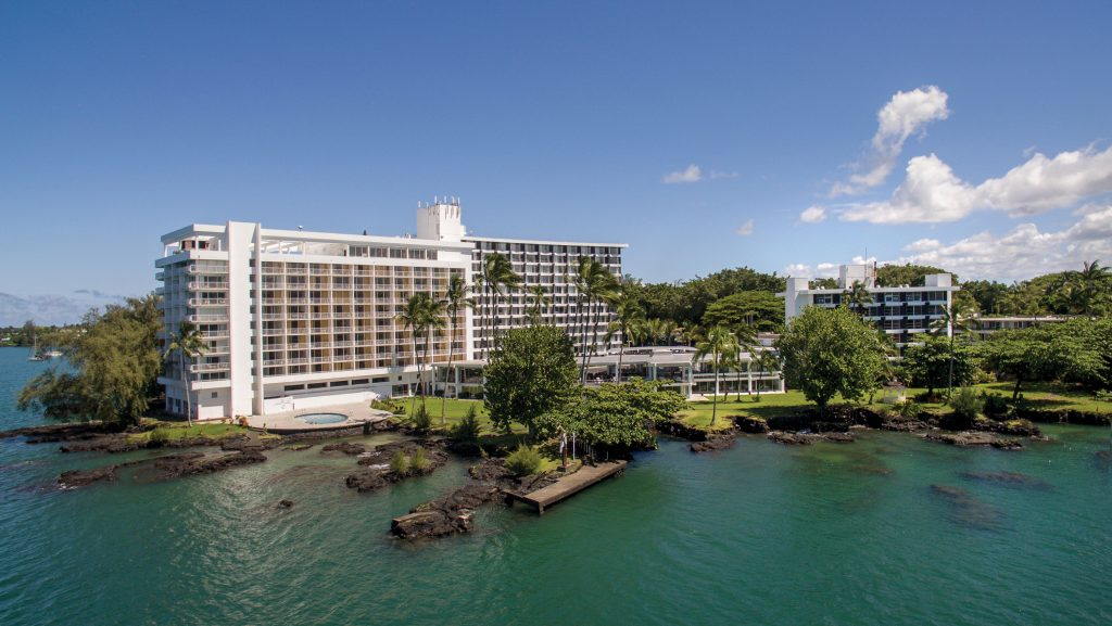 The Grand Naniloa Hotel Hilo - a DoubleTree by Hilton blends traditional Hawaiian culture with the most modern and luxurious conveniences. Credit: Hilton Hotels & Resorts.