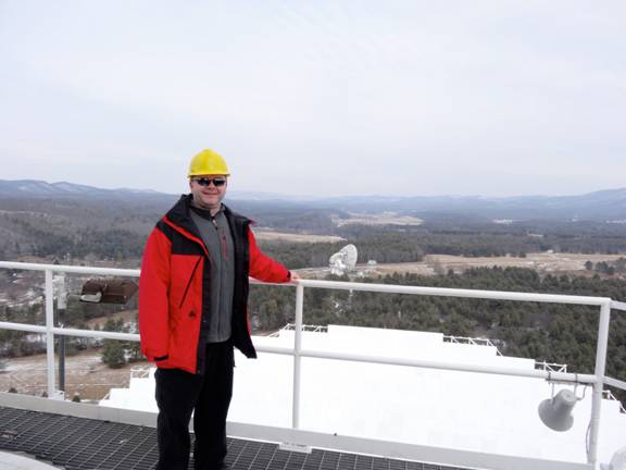 Dr. Mark Rawlings, support scientist at the James Clerk Maxwell Telescope (East Asian Observatory). Courtesy photo.