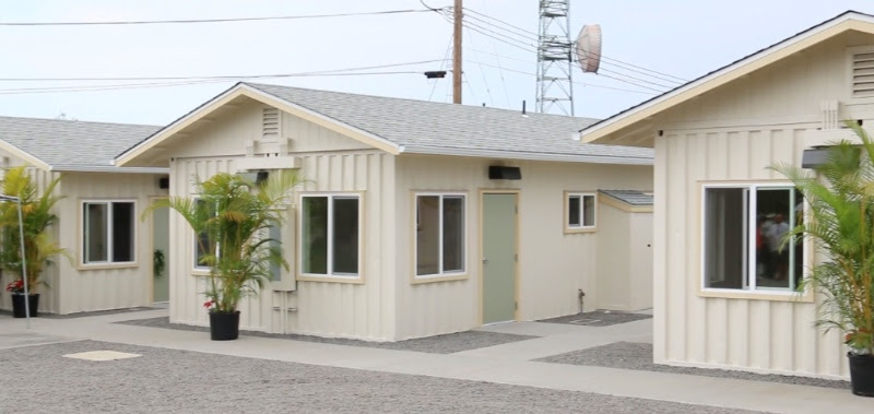 Hale Kīkaha, the County of Hawaiʻi's newest housing project, includes 23 micro units. County of Hawaiʻi photo.
