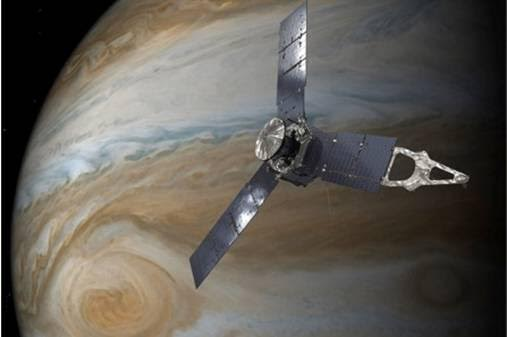 NASA's Juno Spacecraft. NASA photo.