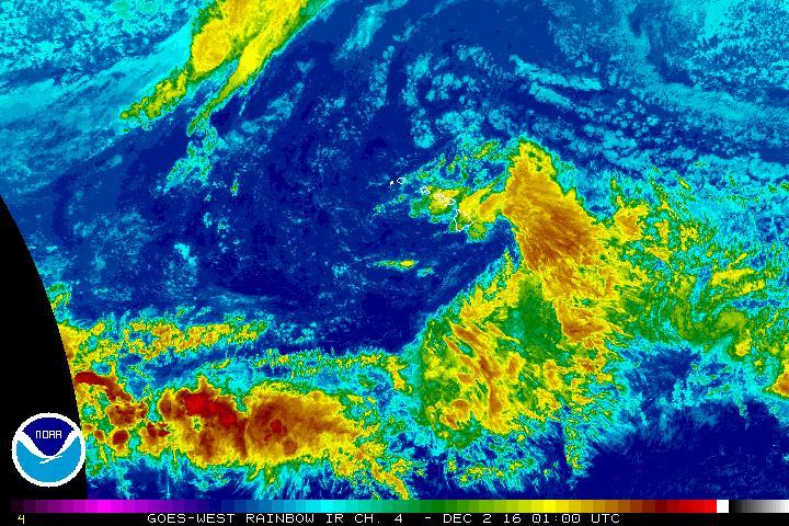 Dec. 1, 2016, 3 p.m. NWS/NOAA image.