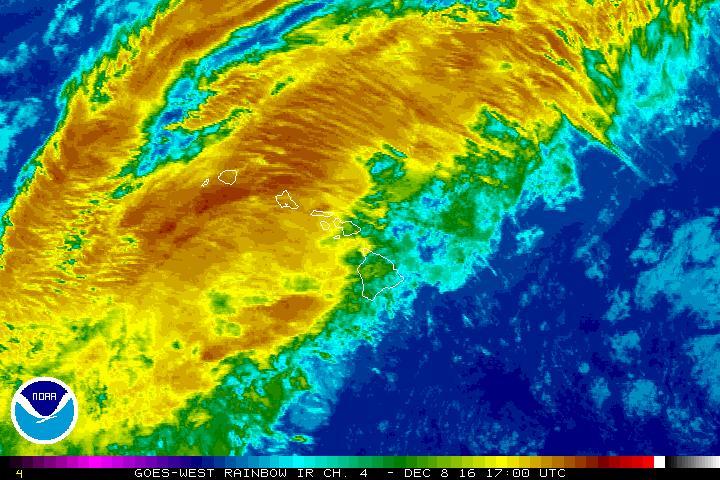 Thursday, Dec. 8, 7 a.m. NWS/NOAA image.