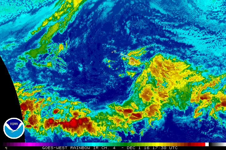Dec. 1, 2016, 7:30 a.m. NWS/NOAA image.