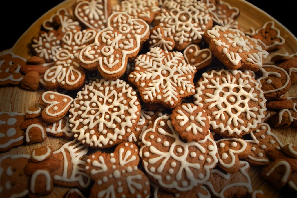 Gingerbread. Big Island Now stock photo. Dec. 2016.