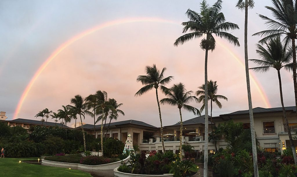 David Blake sent in this photo that he took on Dec. 19, 2016, from the Fairmont Orchid on the Kohala Coast.