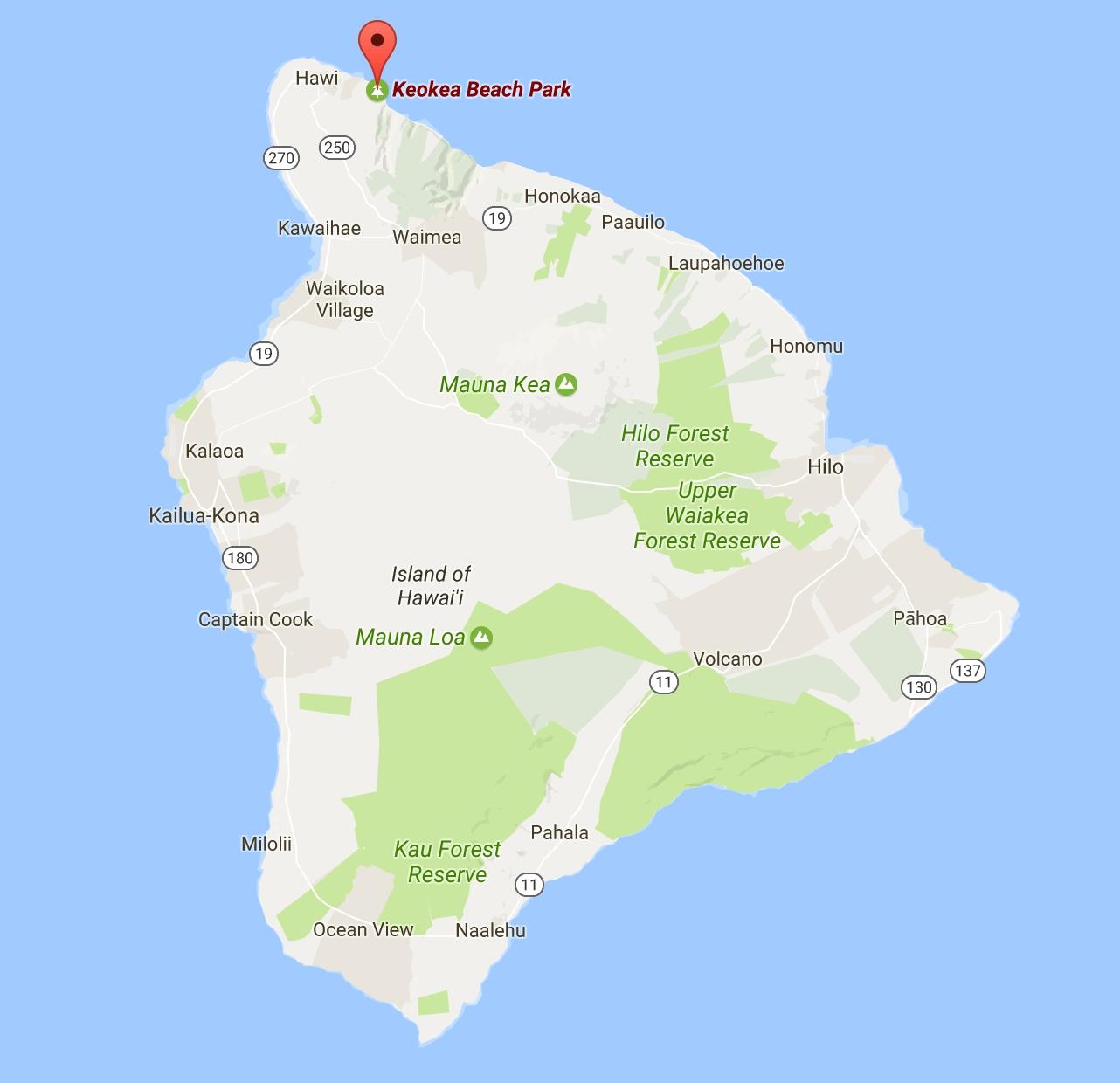 Big Island Beaches: Awesome Big Island Beach Campsites