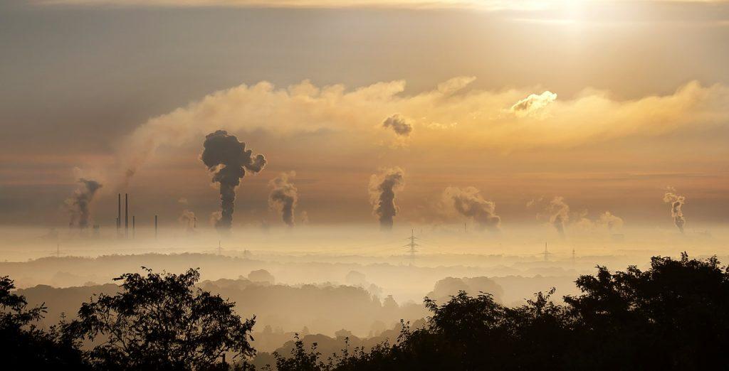 Carbon pollution.