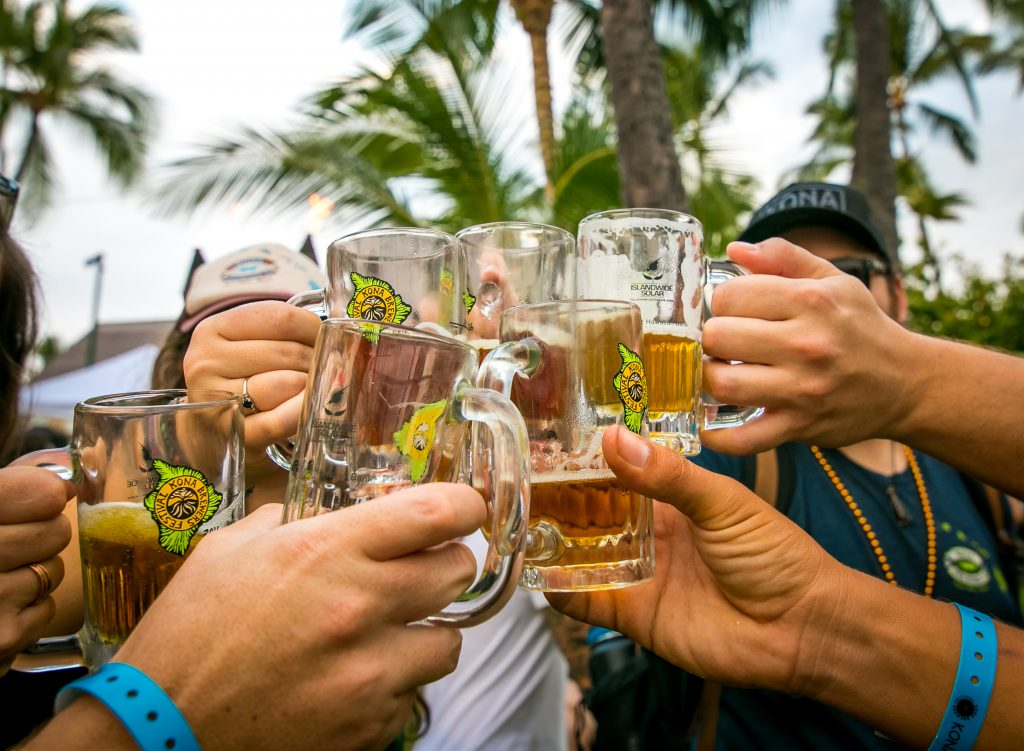 Cheers! Kona Brewers Festival photo by Mason Lake.