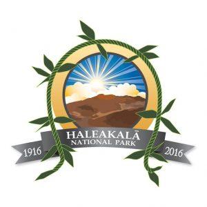 Haleakalā National Park Centennial logo