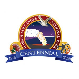 Hawaiʻi Volcanoes National Park Centennial Logo