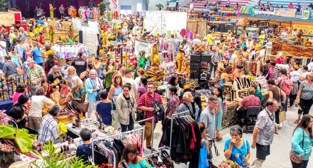Merrie monarch festival craft fairs big island now for Craft fairs and festivals