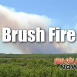 Brush Fire Off Route 190 Closes Roadway