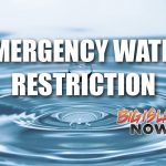 UPDATE: Emergency Water Restriction Cancelled