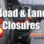 Road Closures, Jan. 16 to Jan. 22