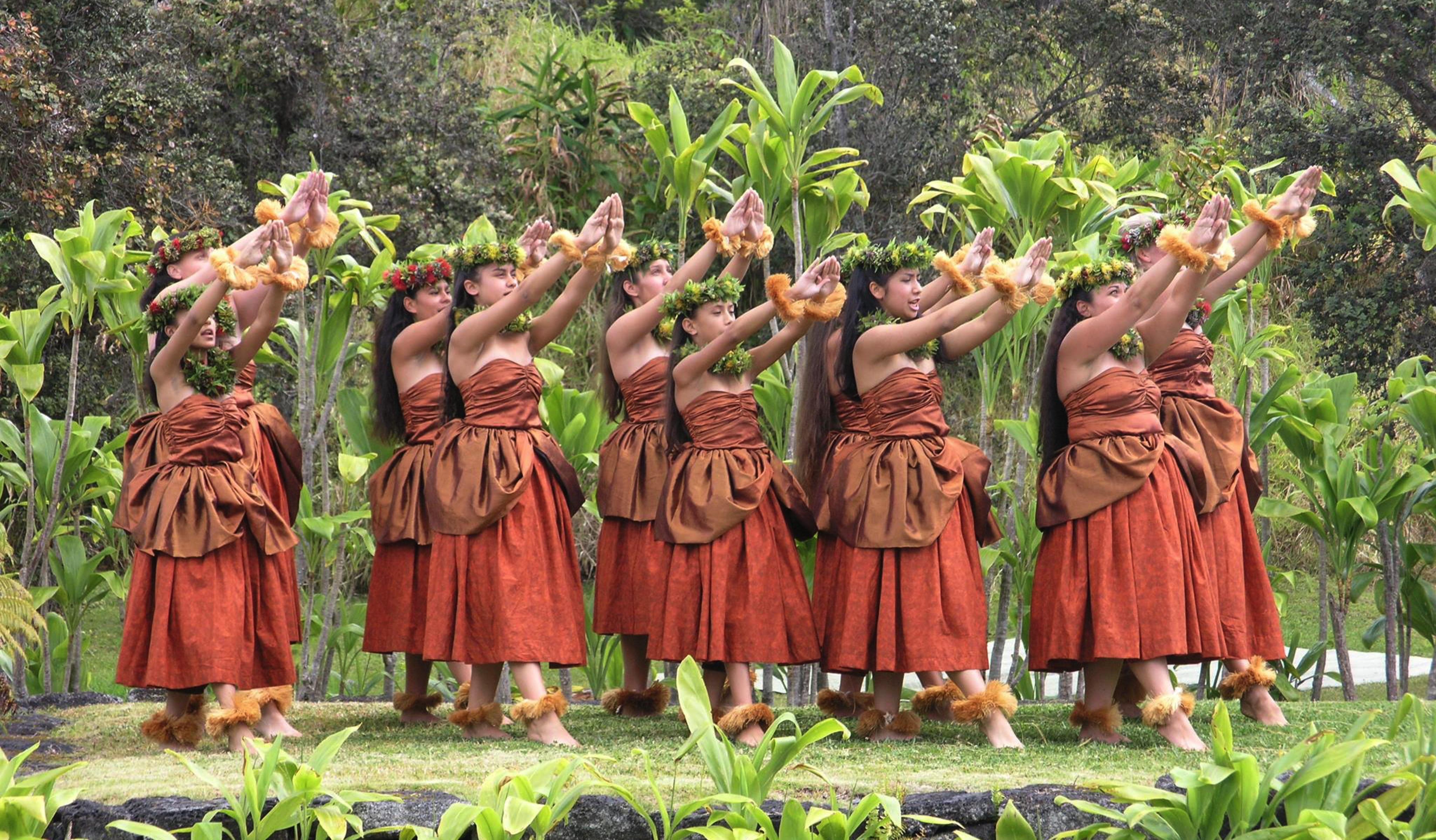 Hawaii Big Island Exotic Dance