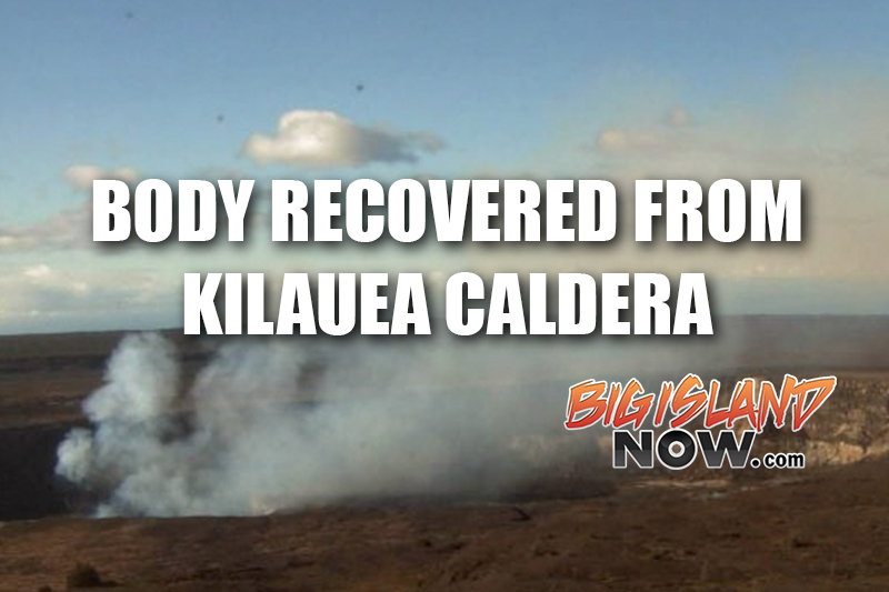 U.S. man jumps his to death in Hawaii Volcanoes National Park