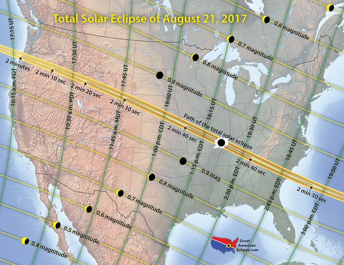 Sun Country Flight Allows Passengers to View Eclipse in Path of Totality