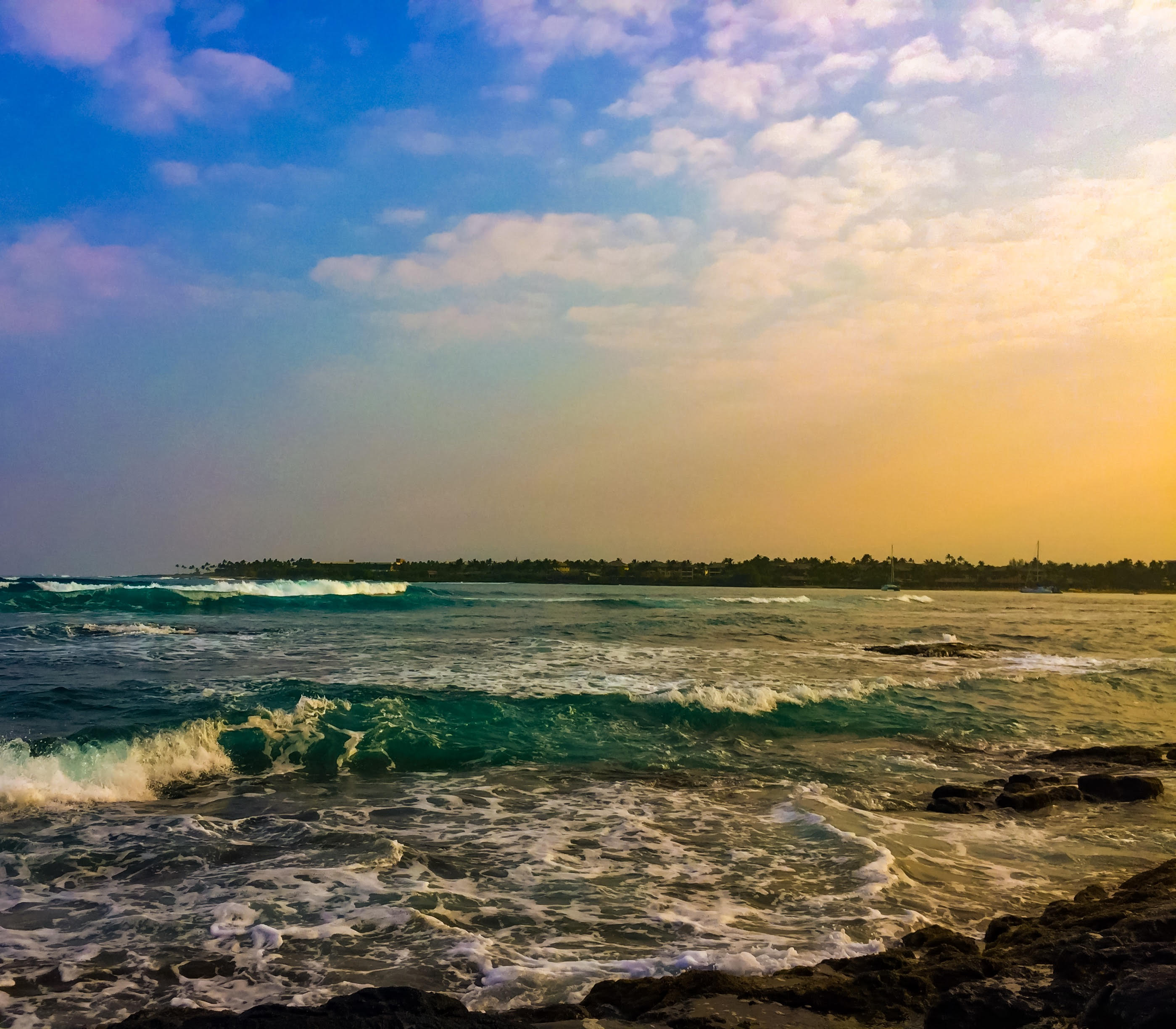 King tides continue through middle of the week big island now no slideshow nvjuhfo Gallery