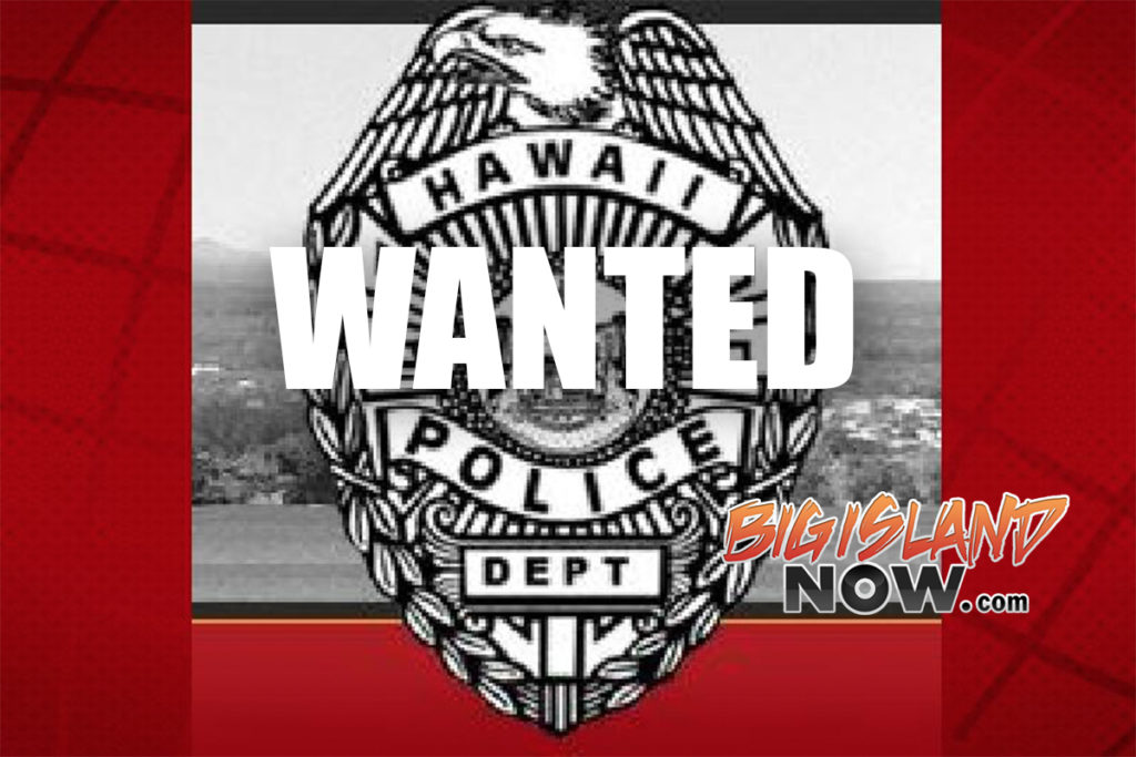 Hilo Woman Wanted on Suspicion of Vehicle Theft