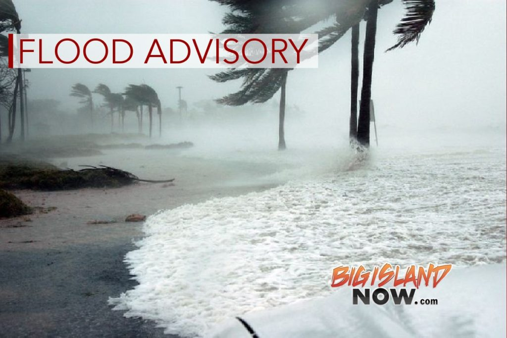 Flood Advisory Issued for East Hawai'i