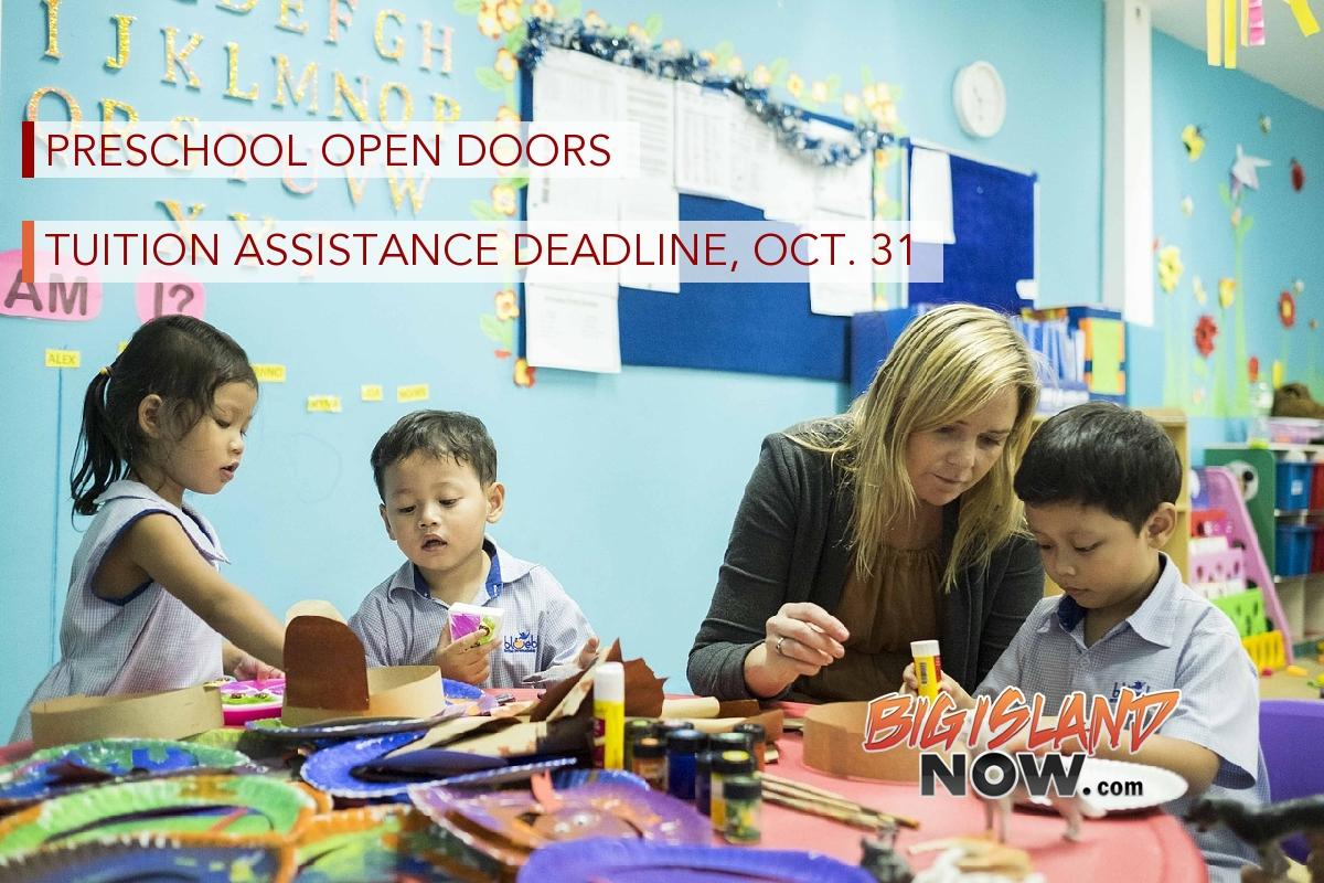 preschool hilo hawaii preschool open doors tuition assistance deadline oct 31 560