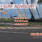 High Surf Advisory Issued for East-Facing Shores