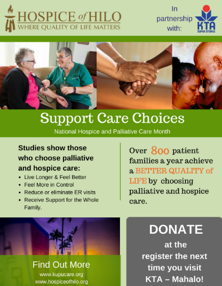 Bells for Hospice recognizes patients and families of hospice care