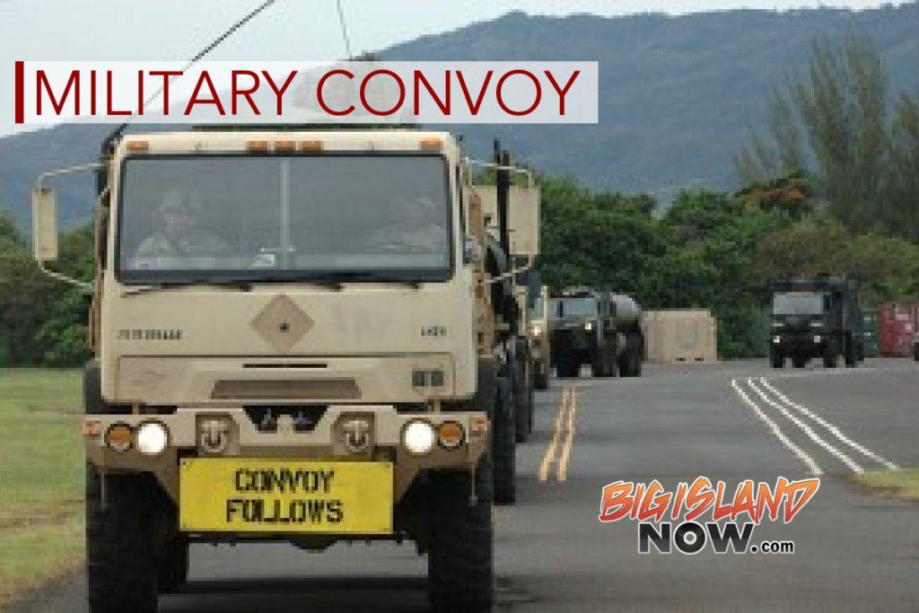 phakuloa to kawaihae convoys scheduled
