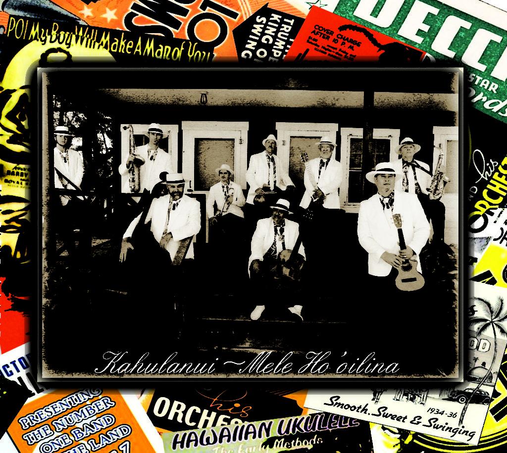 Kahulanui's Mele Ho'oilina – A Musical Legacy front cover