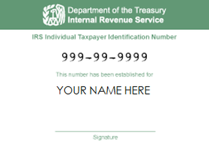 how to get an individual tax id number
