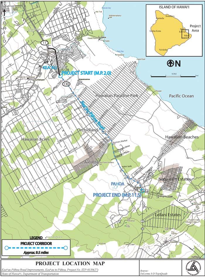 Highway 130 Hawaii News and Island Information