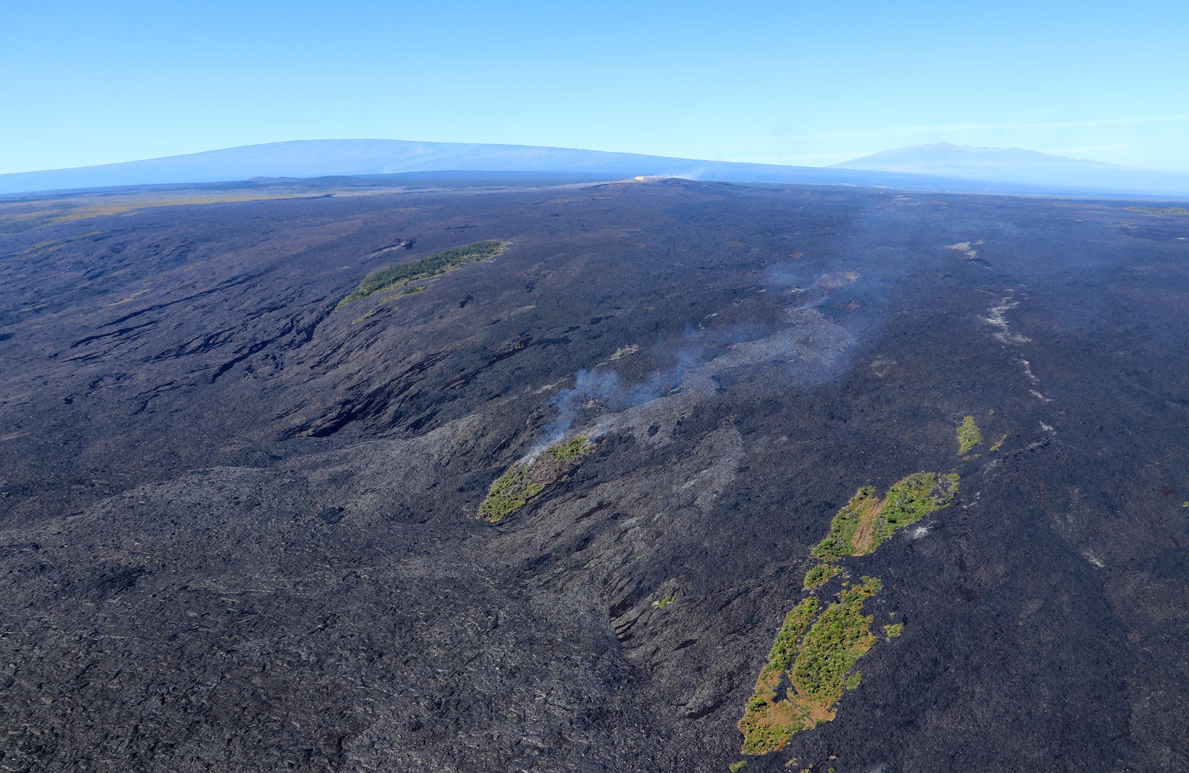 Volcano Visitor Center Hawaii Big Island