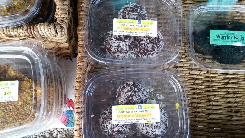 Chocolate macaroons from Big Island Goodness. PC: Marla Walters.