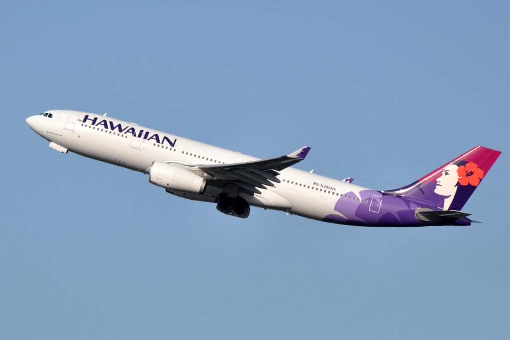 Hawaiian Airlines to Increase Service to Japan During February