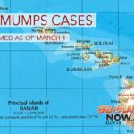 Rate of Hawai'i Mumps Cases on Decline