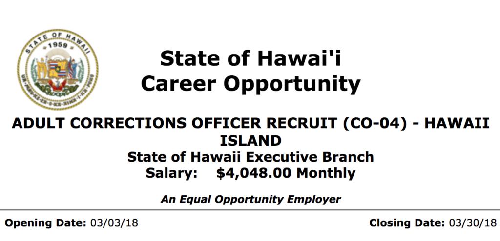 aco job adult correction officer