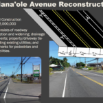 Kalaniana'ole Avenue Reconstruction Project to Begin March 12