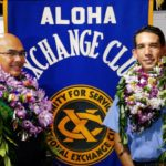 Firefighter/EMT and HPD Officer Honored by Aloha Exchange Club