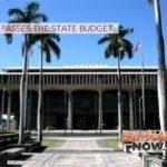 Senate Passes the State Budget